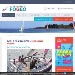 Ecole de croisère en Morbihan - Fogeo - Arzon Port du Crouesty