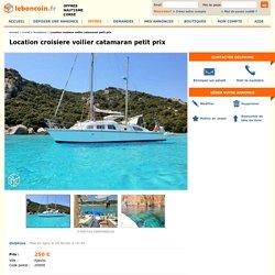 Location croisiere voilier catamaran petit prix Nautisme Corse