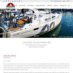 Location Voilier Hanse 385 – Ile Des Embiez – Croisière en Bateau – Var 83 – My Sail croisière Méditerranée