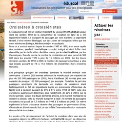 Croisières & croisiéristes