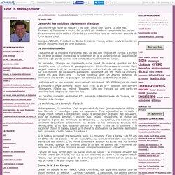 Le marché des croisières : dynamisme et enjeux - Lost in Management