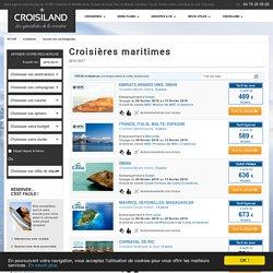 Croisières maritimes 2016-2017