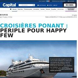Croisières Ponant : périple pour happy few