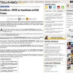 Croisières : l'AFCC se transforme en CLIA France