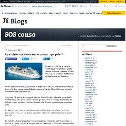La croisiériste chute sur le bateau : qui paie