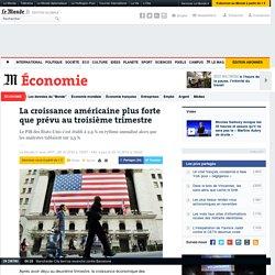 Croissance américaine en trompe l'oeil au 3ème trimestre