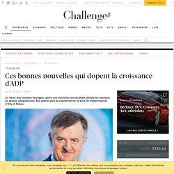 Ces bonnes nouvelles qui dopent la croissance d'ADP - Challenges.fr