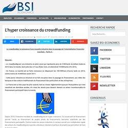 L'hyper croissance du crowdfunding