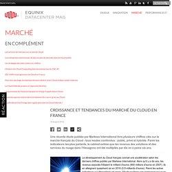 Croissance et tendances du marché du Cloud en France - Datacenter Mag