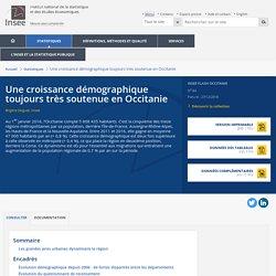 Une croissance démographique toujours très soutenue en Occitanie - Insee Flash Occitanie - 84