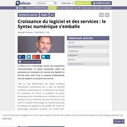 Croissance du logiciel et des services : le Syntec numérique s'emballe