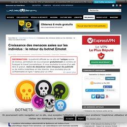 Croissance des menaces axées sur les individus : le retour du botnet Emotet