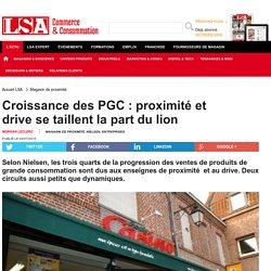 Croissance des PGC : proximité et drive se...