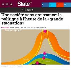 Une société sans croissance: la politique à l'heure de la «grande stagnation»
