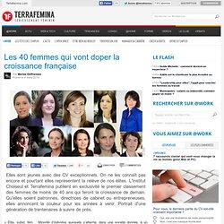 Les 40 femmes qui vont doper la croissance française
