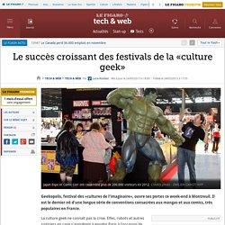 """Succès croissant des festivals de la """"culture geek"""""""