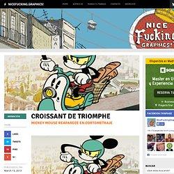 Nuevo cortometraje de Disney con Mickey y Minnie Mouse: Croissant de Triomphe