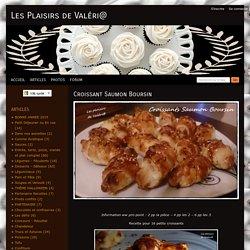 Croissant Saumon Boursin - Les Plaisirs de Val ri@