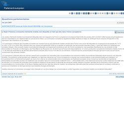 PARLEMENT EUROPEEN - Question E-2765/07 Présence croissante d'aliments irradiés non étiquetés en tant que tels dans l'Union eur