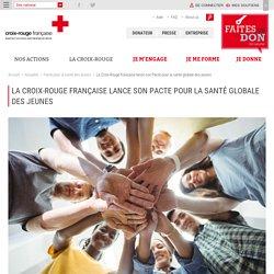 La Croix-Rouge française lance son Pacte pour la santé globale des jeunes