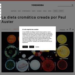La dieta cromática creada por Paul Auster