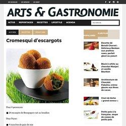 Cromesqui d'escargots