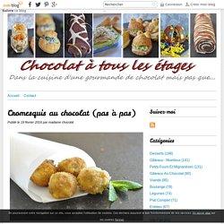 Cromesquis au chocolat (pas à pas) - Blog cuisine avec du chocolat ou Thermomix mais pas que