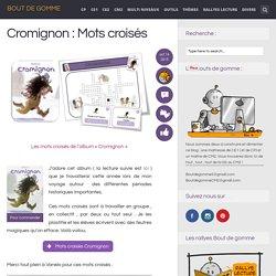 Cromignon : Mots croisés