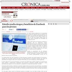 Estudio resalta riesgos y beneficios de Facebook para los jóvenes