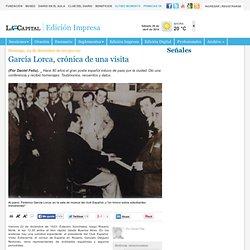 García Lorca, crónica de una visita - Señales