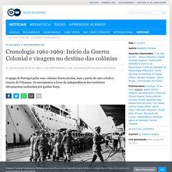 Cronologia da Guerra Colonial Portuguesa