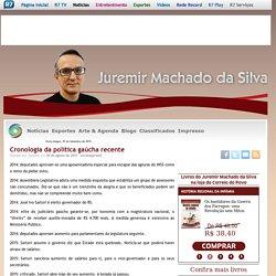 Cronologia da política gaúcha recente Juremir Machado da Silva