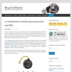 11 cronómetros visuales para proyectar con PDI