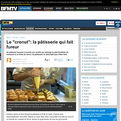 """Le """"cronut"""": la pâtisserie qui fait fureur"""