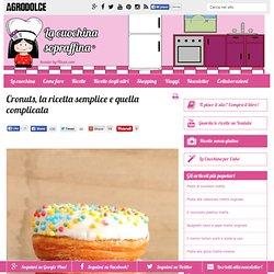 Cronuts, la ricetta semplice