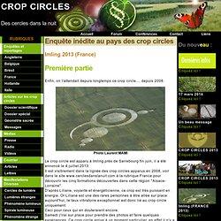Crop circles - Des cercles dans la nuit:Imling 2013