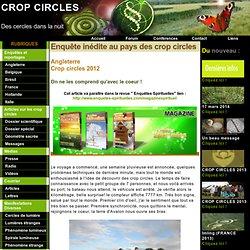 Crop circles - Des cercles dans la nuit: