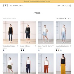 Cropped and Long Womens Pants Online