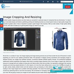 Image cropping and resizing
