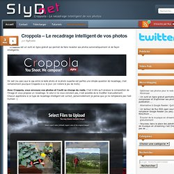 Croppola – Le recadrage intelligent de vos photos