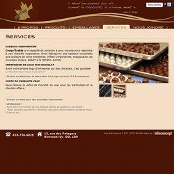 Croqu'Érable - Services