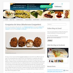 Croquetas de Setas (Mushroom Croquettes)