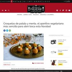 Croquetas de patata y menta, receta de cocina fácil, sencilla y deliciosa