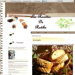 les croquets - Le blog de recette de ratiba,Gateaux algerienx, cuisine facile , gateau facile