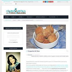Croquette de thon - Les Joyaux de Sherazade