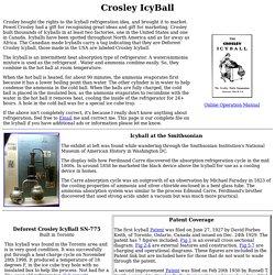 Crosley IcyBall