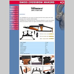 crossbow twinbow armbrust swiss crossbow makers