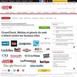 CrossCheck. Médias et géants du web s'allient contre les fausses infos