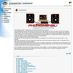 Phonomenal - sound card history