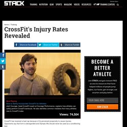 CrossFit's Injury Rates Revealed
